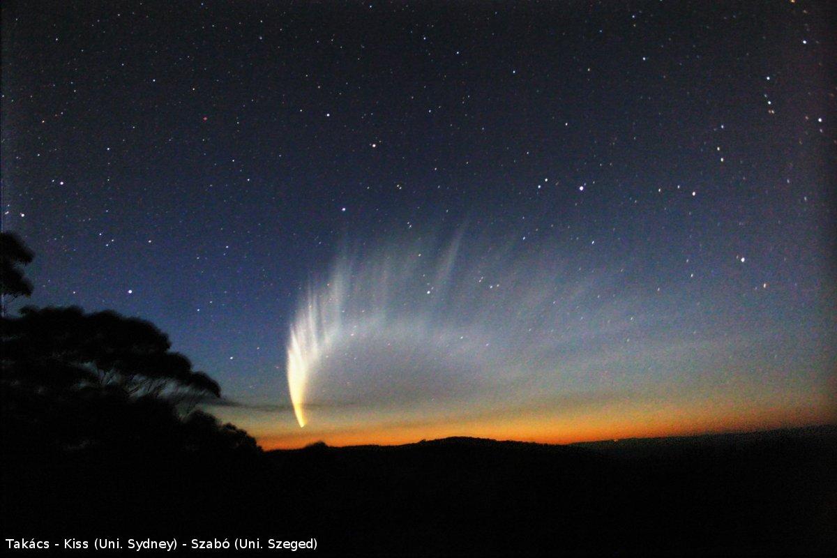 دم ستارههای دنباله دار