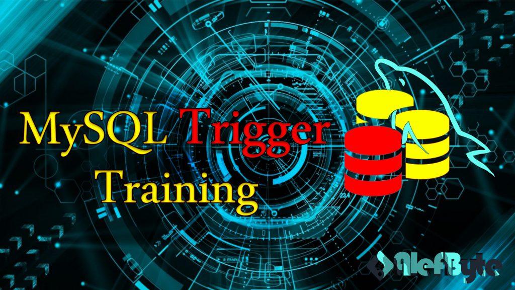 MySQL Trigger Training Poster - آموزش تریگر mysql