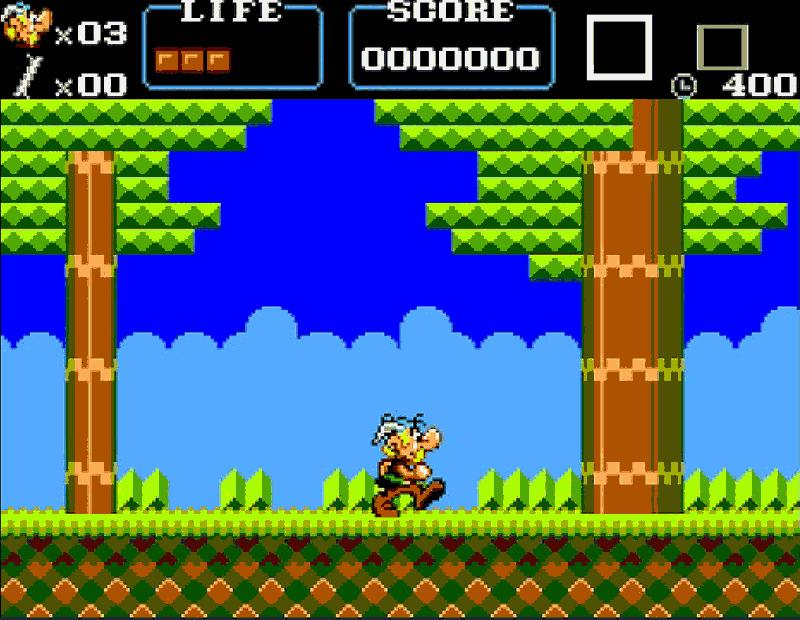 بازی Asterix برای کنسول سگا