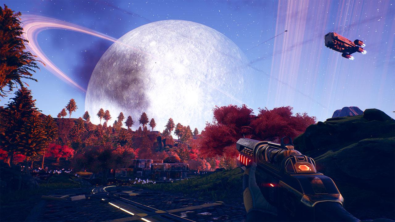 نمایی جذاب از جهان بازی The Outer Worlds