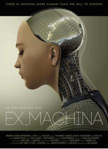 پوستر فیلم Ex Machina 2015، دارای موضوعی مشابه با قسمت ششم سریال Love,Death and Robots