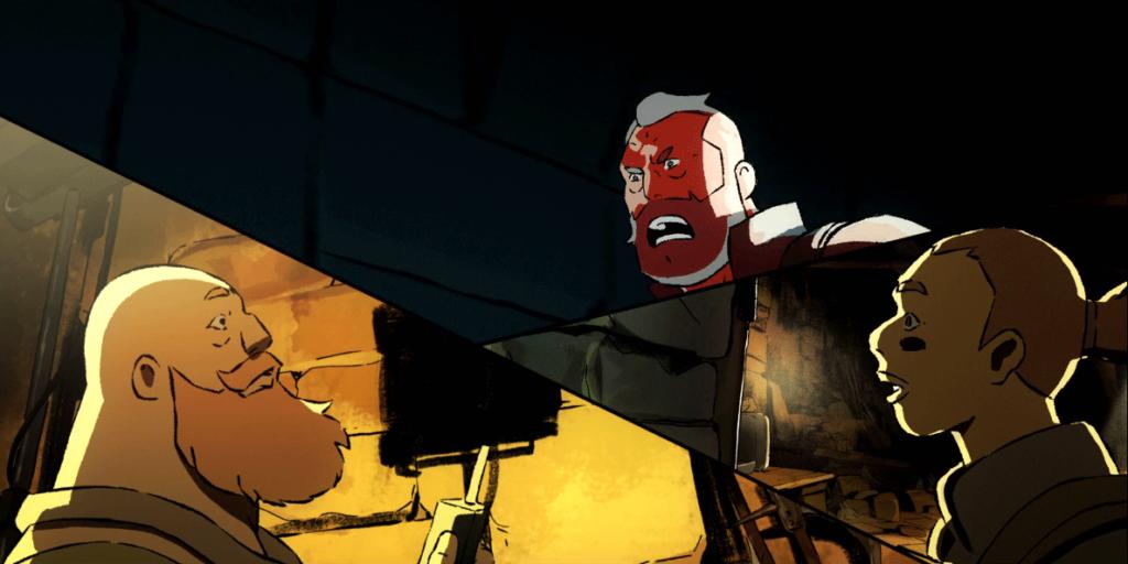 نمایی از قسمت پنجم سریال Love,Death and Robots