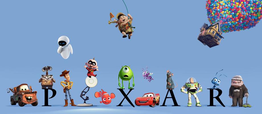 انیمیشنهای پیکسار